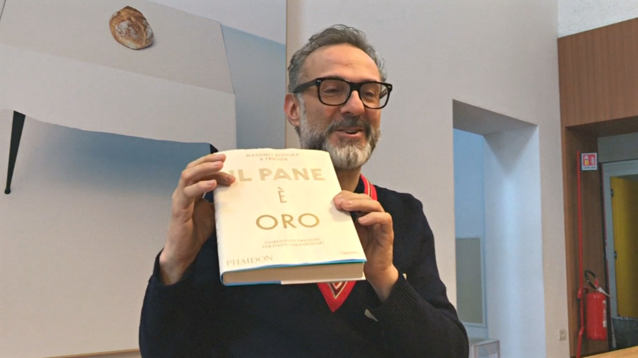 Известный итальянский шеф-повар готовит для бездомных