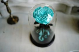 Цветы в стекле от Forever Rose