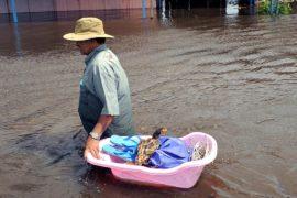 В Боливии затопило крупнейший город страны