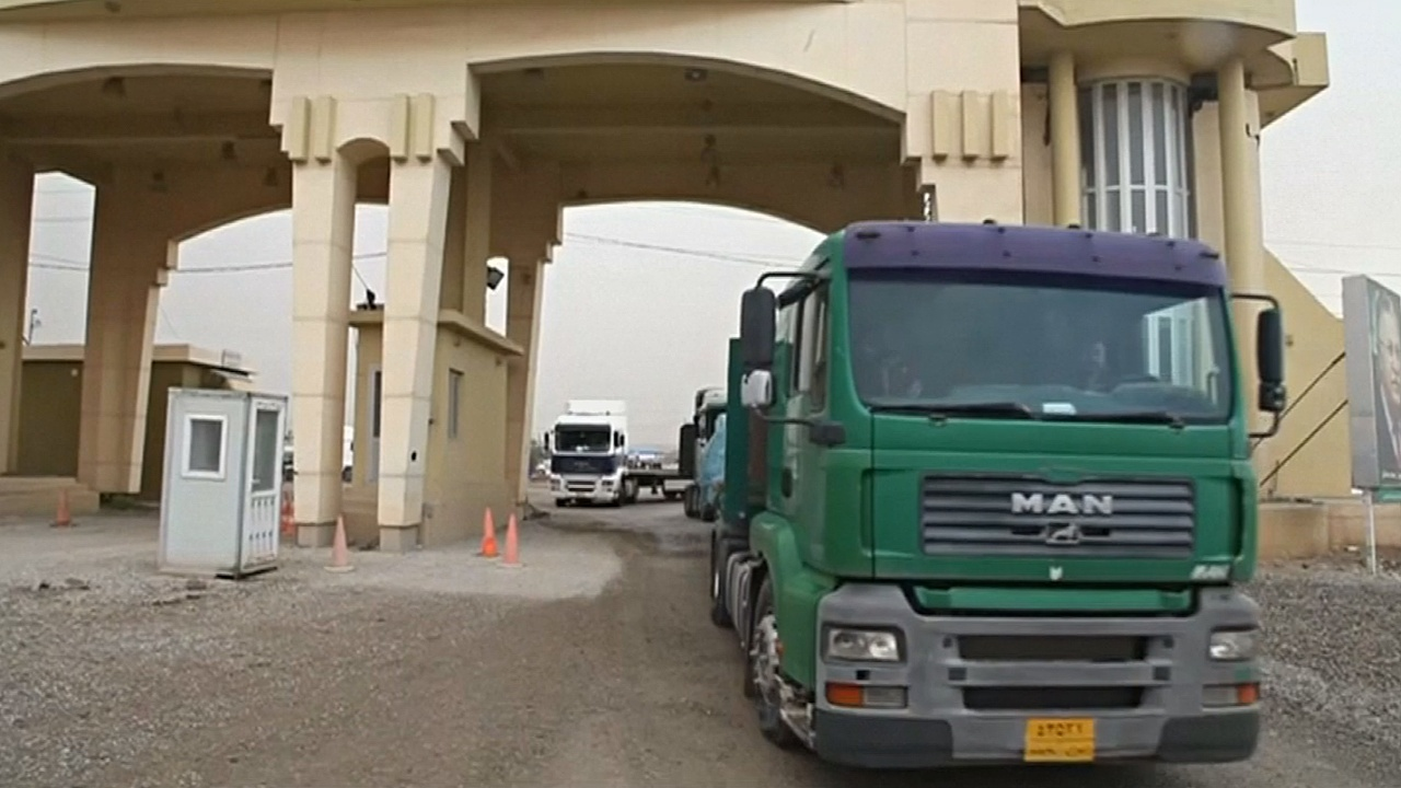 Иран открыл КПП на границе с иракским Курдистаном