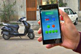 Студенты в Индии разработали систему автозапуска автомобиля с помощью смартфона