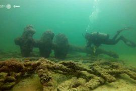 Старинный голландский корабль и британский пароход нашли у побережья Юкатана