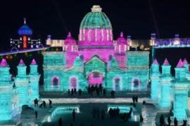 Фестиваль льда в Харбине: 80 гектаров зимней сказки