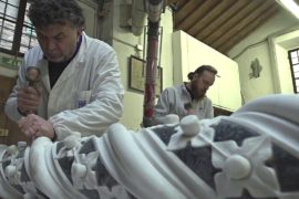 Каррарский мрамор продолжает служить итальянским скульпторам