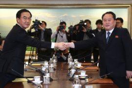 Первые переговоры за два года: Сеул и Пхеньян обсудили Олимпиаду