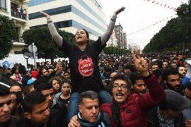 В Тунисе вспыхнули протесты против повышения цен и налогов