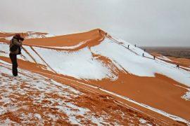 Экстремальная погода: смертоносный циклон на Мадагаскаре и снег в Сахаре