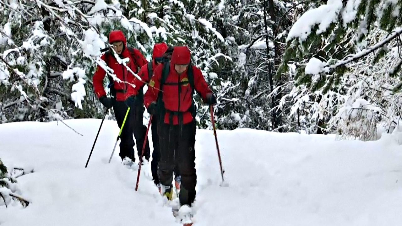 Опасный путь через Альпы: мигранты замерзают из-за сильного снегопада