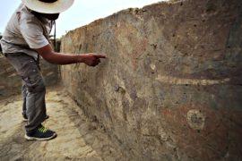 Руины церемониального зала эпохи культуры мочика нашли в Перу