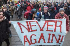 20 тысяч австрийцев вышли на антиправительственный протест