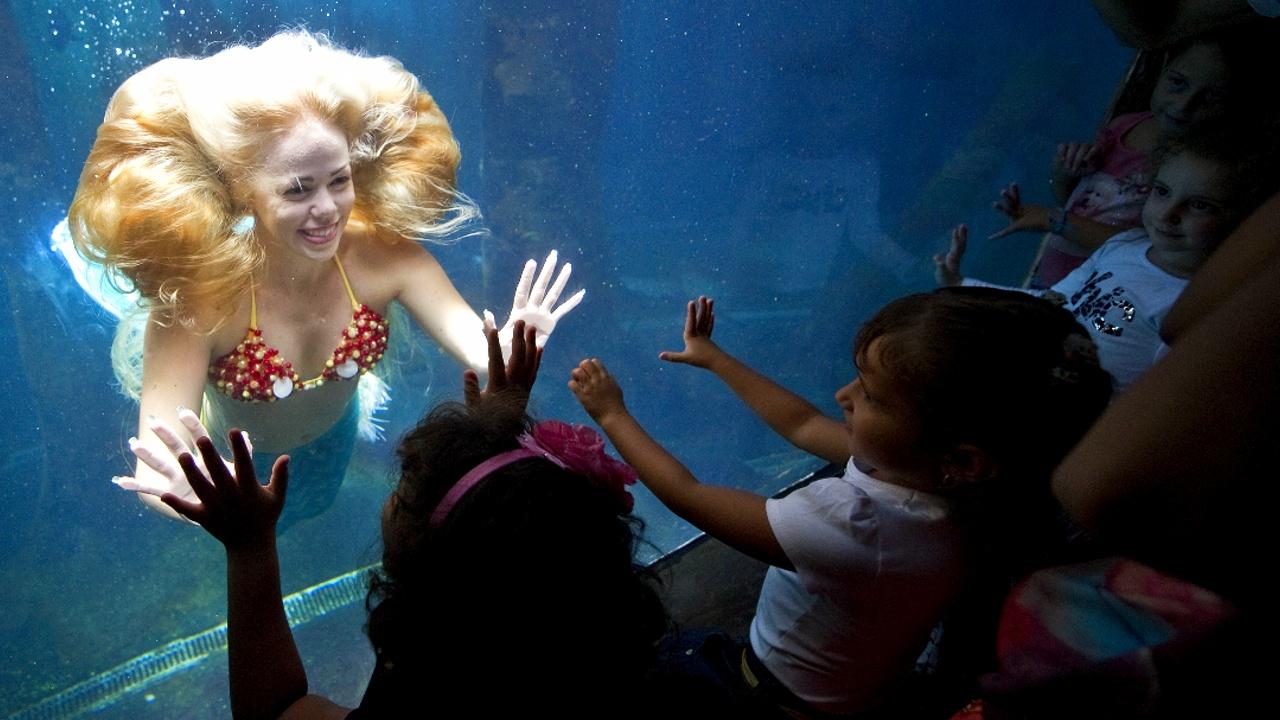 Хвостатая работа: вакансия русалки в парке развлечений в США