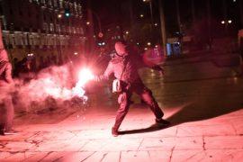 В Греции новый пакет реформ принимали на фоне протестов