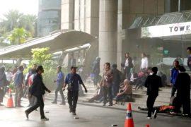 Балкон в здании биржи Джакарты рухнул на студентов