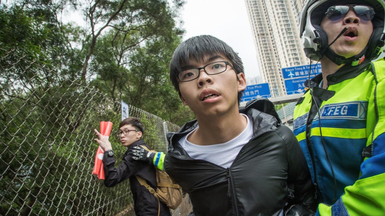 Гонконгского демократического активиста приговорили ко второму сроку