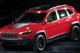 Кресла будущего и обновлённый Jeep Cherokee на мотор-шоу в Детройте