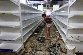 Волна грабежей в Венесуэле напугала владельцев магазинов