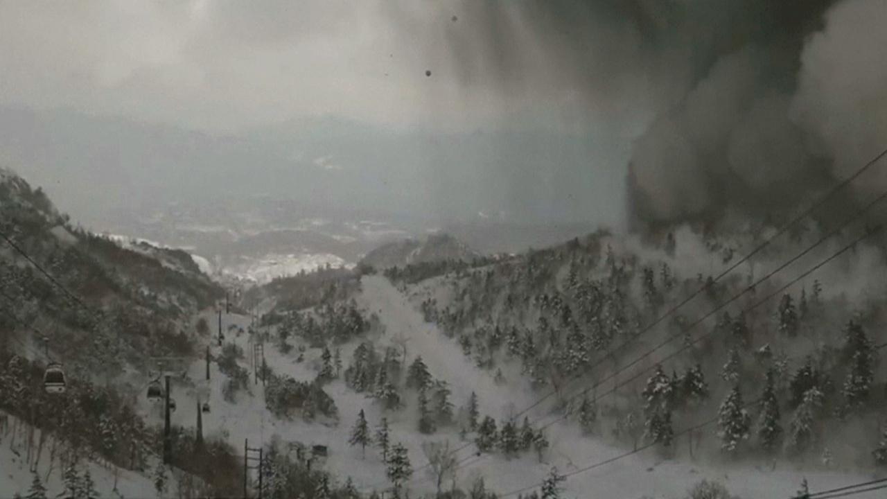 Снегопад в центральной Японии: лавина накрыла лыжников, а Токио парализован