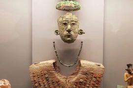 Убранство саркофага загадочной «красной королевы» майя восстановят