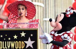 Минни-Маус получила звезду на голливудской «Аллее славы»