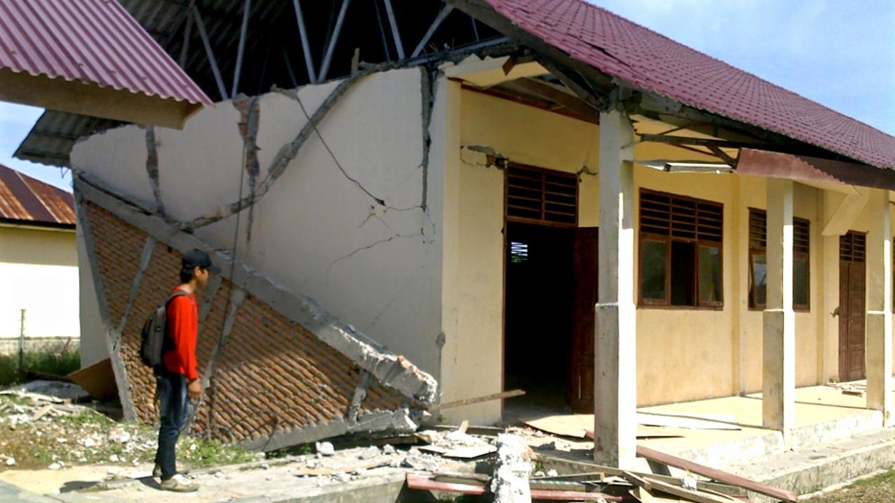 Землетрясение на Яве: повреждены десятки зданий