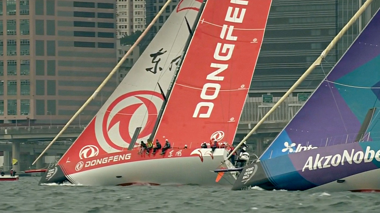 В Гонконге прошли промежуточные этапы кругосветной регаты Volvo Ocean Race