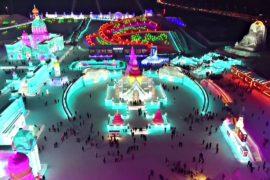 Фестиваль льда в Харбине: внимание к деталям и яркая подсветка