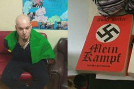 В квартире у итальянца, стрелявшего по мигрантам, нашли книгу Гитлера и нож