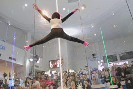 В Испании соревновались в полётах в аэродинамической трубе