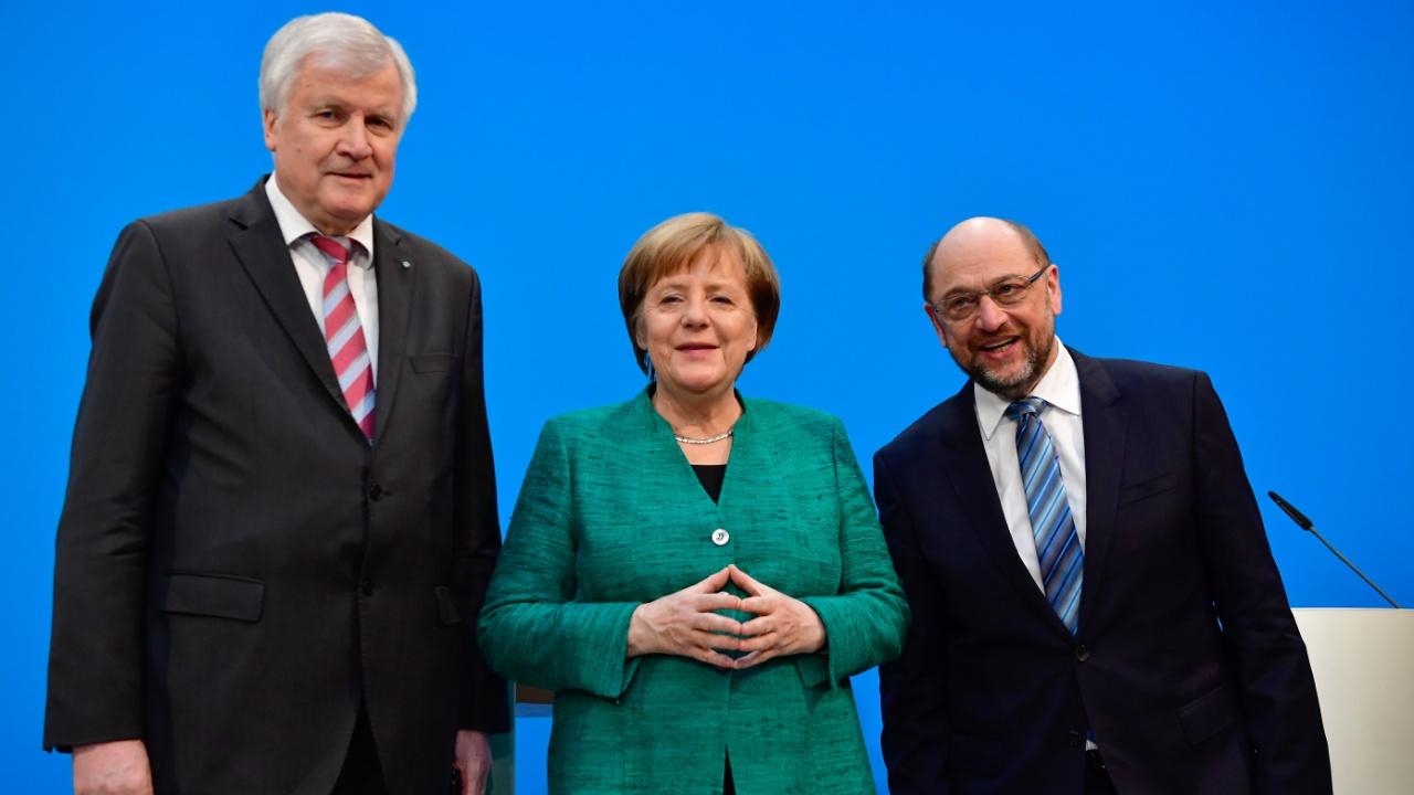 Ангела Меркель договорилась о широкой коалиции