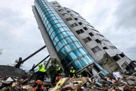 Число жертв землетрясения на Тайване возросло до 9