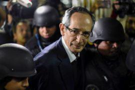 Экс-президента Гватемалы арестовали по подозрению в коррупции