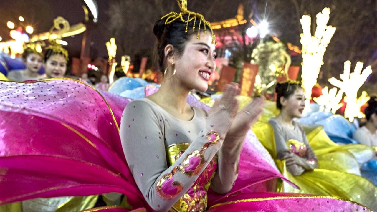Как в Пекине встречали Новый год Собаки