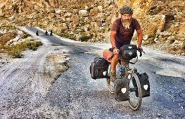 17 000 км на велосипеде, чтобы поболеть за сына на Олимпиаде