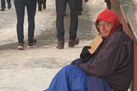 В Париже проводят перепись бездомных