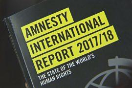 Amnesty International представила отчёт о ситуации с правами человека в мире