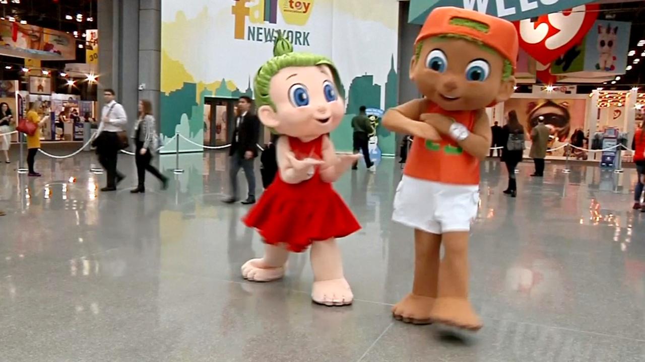 Какие игрушки стали главными на Международной выставке в США