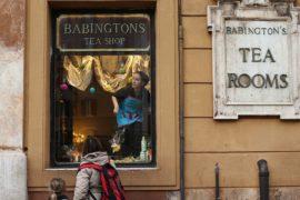 Английская чайная в Риме празднует 125-летие