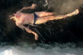 Моржи на старт: чемпионат по зимнему плаванию на озере Шенфлиз