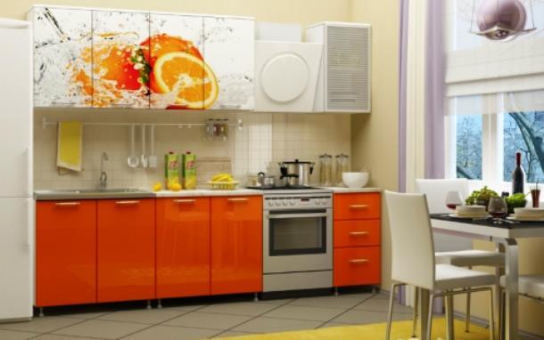 Кухонная мебель, радующая глаз