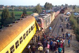 В Египте столкнулись поезда, не менее 19 погибших
