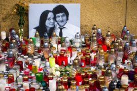 В Братиславе протестуют против убийства журналиста