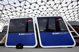 Беспилотные мобильные капсулы — транспорт будущего в Дубае