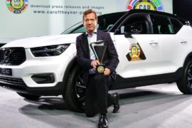 Кроссовер Volvo XC40 объявлен «Европейским автомобилем года»