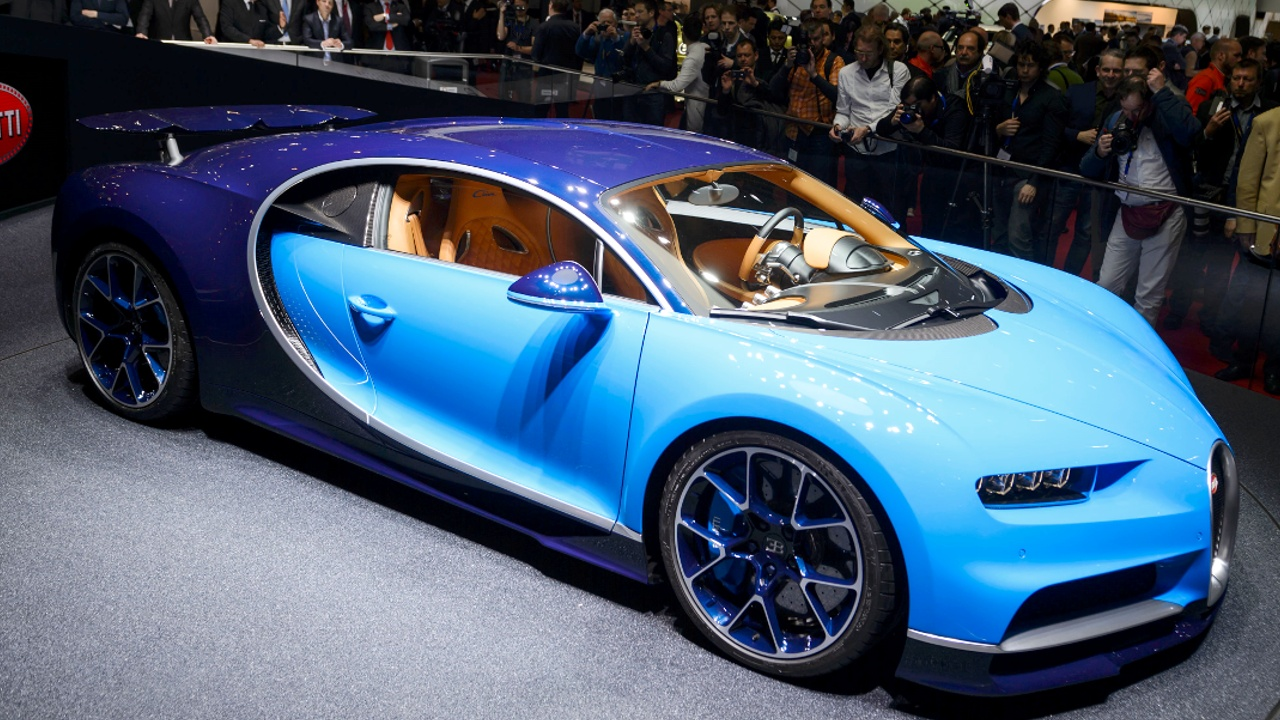 Гиперкары MacLaren, Lamborghini и Bugatti дебютируют в Женеве
