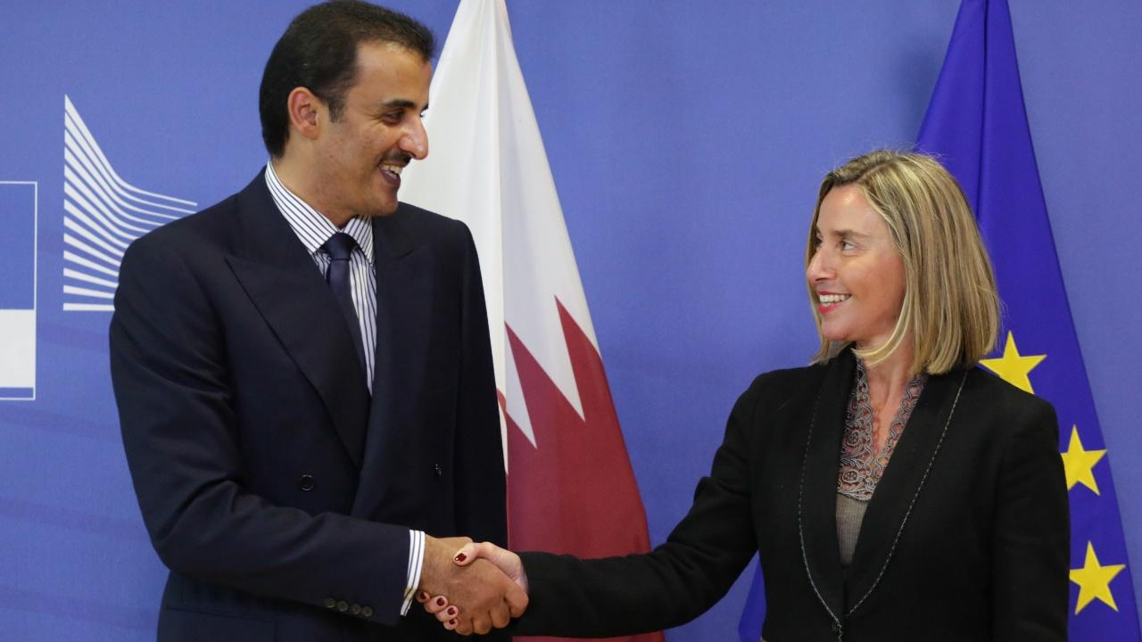 Эмир Катара надеется на помощь ЕС в разрешении дипкризиса