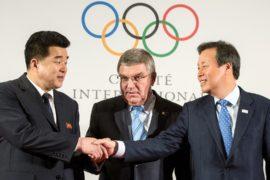 Глава МОК надеется на мир между Южной и Северной Кореями