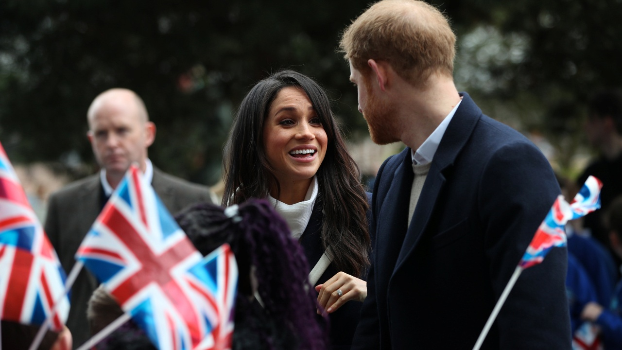 Принц Гарри и Меган Маркл посетили Бирмингем