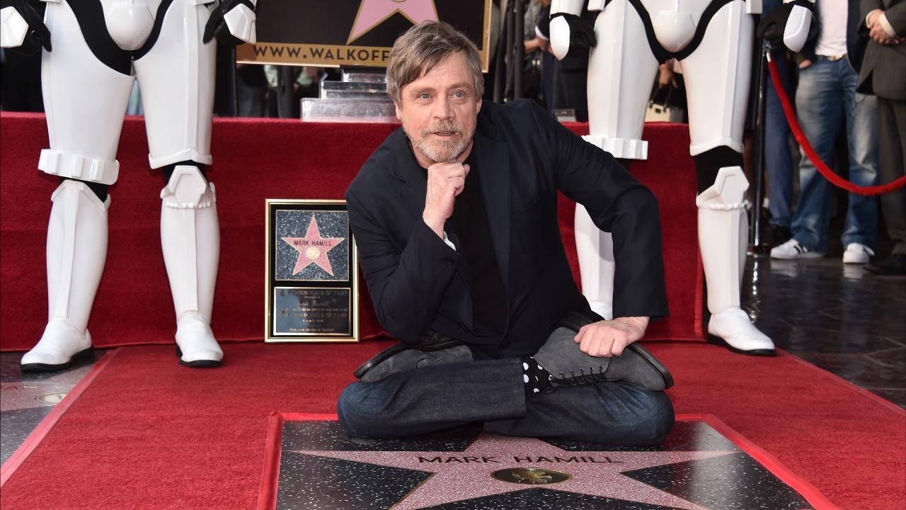 Люк Скайуокер получил звезду в Голливуде