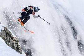 Экстремальный фрирайд: лучшие спортсмены состязались в австрийских горах