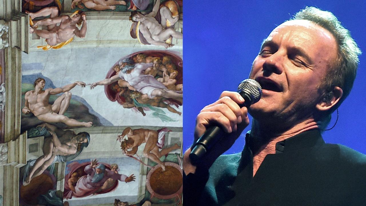 Ради фресок Сикстинской капеллы Стинг запел на латинском